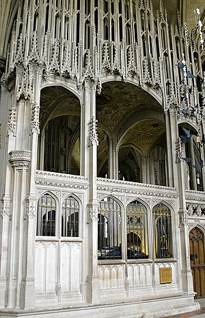 William Waynflete - Waynflete's chantry tomb in Winchester Cathedral