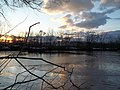 Winter Sunset at Amico Barrier Island, Delran, NJ - panoramio (19).jpg