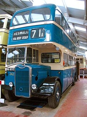Wirral Transport Museum - 1943 Guy Arab