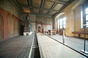 Lutherhaus - The Lutherstube (Luther's living room) in the Lutherhaus museum