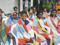 Women patients at the Addis Ababa Fistula Hospital in Ethiopia wrapped in TG's blankets.png