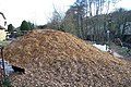 Wood Chippings from felled trees during the flood clear up in Oughtibridge - geograph.org.uk - 719209.jpg
