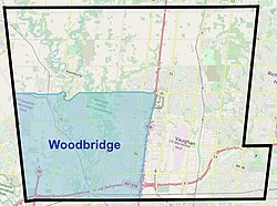 Woodbridge within Vaughan