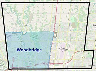Woodbridge, Ontario Suburban district in York, Ontario, Canada