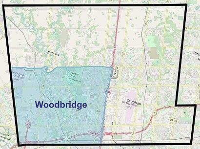 Comment aller à Woodbridge, Ontario en transport en commun - A propos de cet endroit