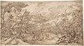 Wooded Landscape with Stag Hunt MET DP801846.jpg