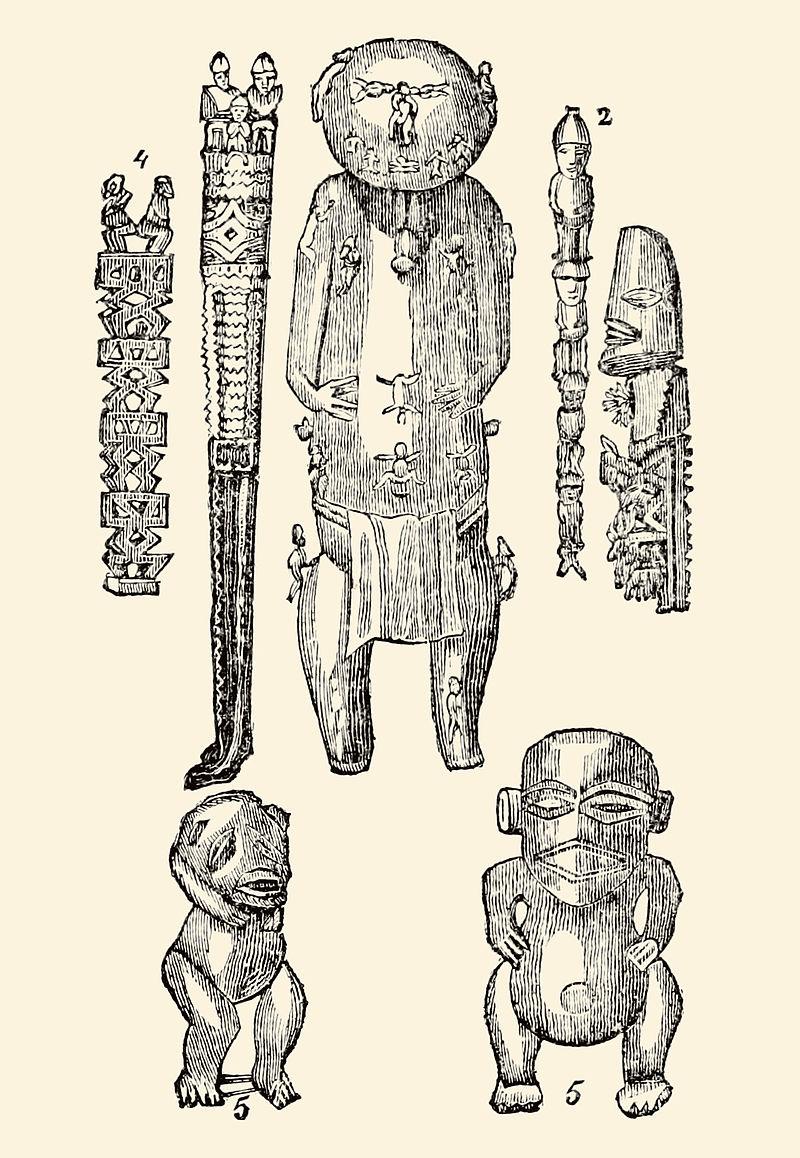 Wooden idols of Polynesia (1830).jpg