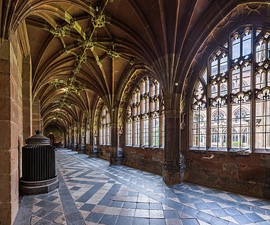 Worcester Cathedral Cloister