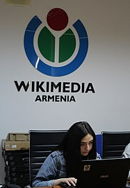 Workshop with Mrgavan WikiClub members, Wikimedia Armenia 02.jpg