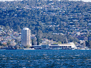 Wrest Point Hotel Casino hotel and casino complex in Hobart, Tasmania