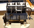 Wright Engine for army aviation, 1910 - Museum of Science and Industry (Chicago) - DSC06318.JPG