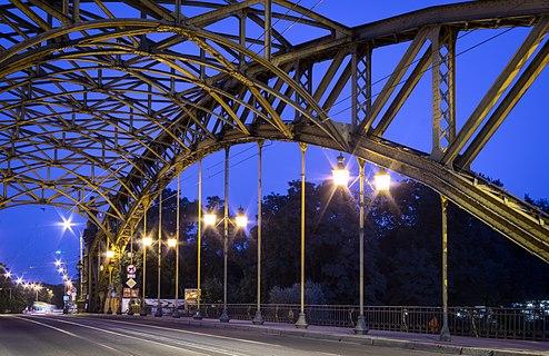 Zwierzyniecki Bridge in Wrocław