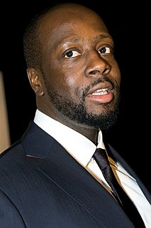 Wyclef Jean Haitian rapper, musician and actor