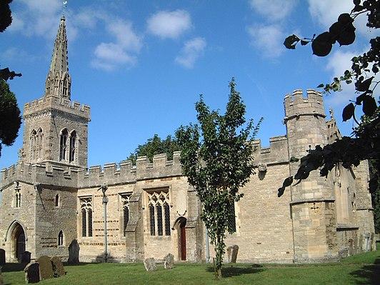 Church of St Lawrence, Wymington