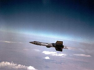 Spaceplane - The X-15's rocket engine used ammonia and liquid oxygen.