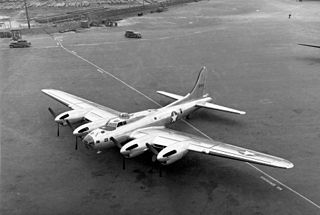 Boeing XB-38 Flying Fortress prototype bomber aircraft
