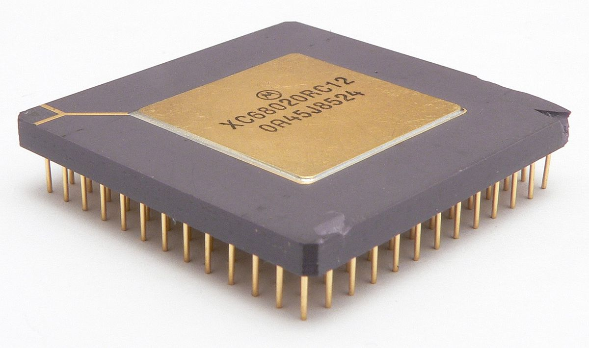 motorola microprocessor Motorola mc68705 microprocessor april 9, 2015april 10, 2015 | steelcityelectronics motorola mc68705p3s 28pin cdip top view of the chip clearly showing all of its markings.