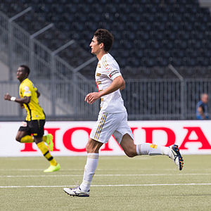Andrés Lamas - Image: YB vs. FCL Lamas 5