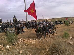Battle of al-Yaarubiyah - YPG fighters in 2013