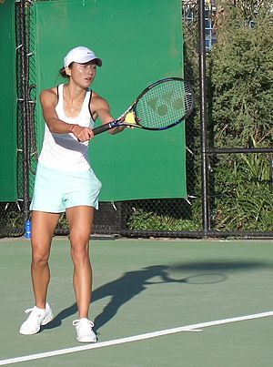 Yan Zi (tennis) - Yan Zi during the first round of the 2006 Australian Open