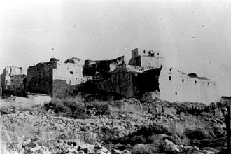 Khirbat Jiddin - Yehi'am Fortress 1948