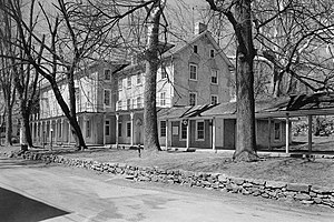 Chester Springs Historic District - Yellow Springs Tavern, HABS Photo, April 1959