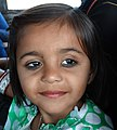 Young Girl on Bus from Agra to Fatehpur Sikri - Uttar Pradesh - India (12635011243).jpg