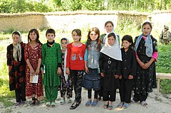 Young girls from northern Afghanistan-2012.jpg