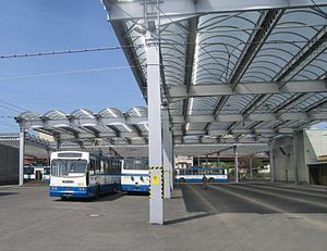 Trolleybuses in Gdynia - New trolleybus depot