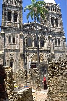 St Joseph S Cathedral Zanzibar Wikipedia
