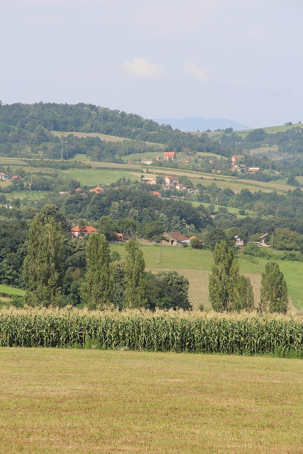 Zarube - opština Valjevo - zapadna Srbija - panorama 10