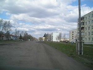 Zavolzhsk - Mira Street in Zavolzhsk