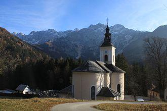 Zgornje Jezersko - St Oswald's Church