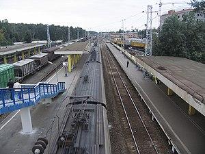 Zheleznodorozhny, Moscow Oblast - Zheleznodorozhnaya railway station