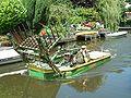 Zoetermeer De Leyens Broekwegwetering Mowing boat (3).JPG