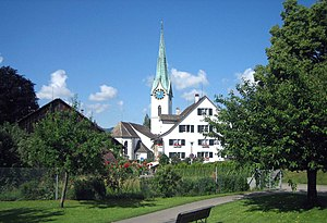 Zollikon - Protestant church in Zollikon
