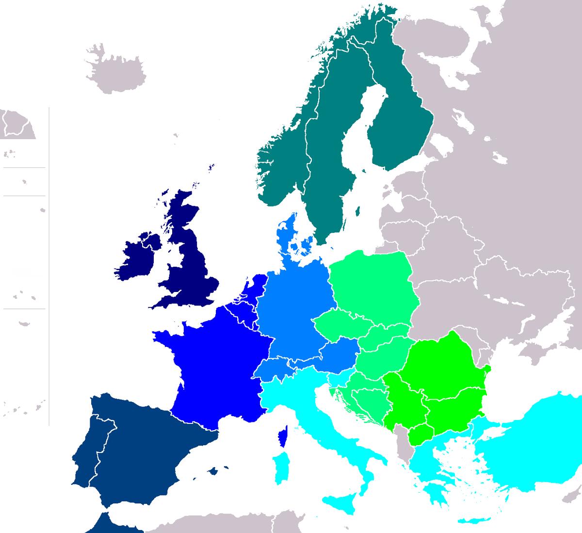 interrail karta InterRail – Wikipedija interrail karta