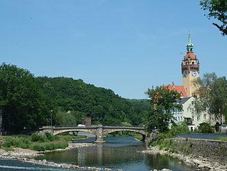 Waldheim, Saxony - Zschopau River