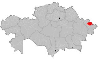 Altai District District in East Kazakhstan Region, Kazakhstan