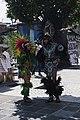 """""""Aztec shamans"""" in Plaza de la Constitución, Mexico City 2019-10-03.jpg"""