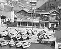 """BIERE PHENIX"" ""PIZZERIA"" with boats in 1935 France, from- Zicht op de haven van Cassis, Bestanddeelnr 254-1823 (cropped).jpg"