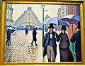 """Paris Street, Rainy Day"" by Gustave Caillebotte - Joy of Museums - Art Institute of Chicago.jpg"