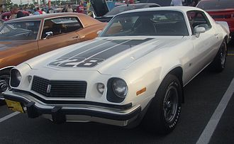 Chevrolet Camaro (second generation) - 1974 Chevrolet Camaro Z28
