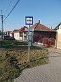 'Dombóvár kórház' bus stop, 2018 Dombóvár.jpg