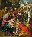 'The Adoration of the Magi' by Guisseppe Cesari, Dayton Art Institute.JPG