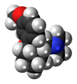 (1S,2S)-Tramadol molecule spacefill.png