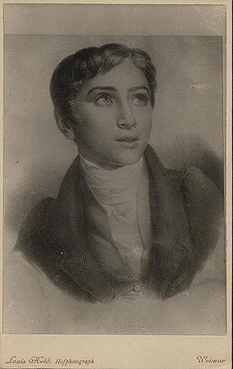 Don Sanche - The composer, c. 1827