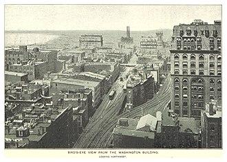 IRT Ninth Avenue Line - Sixth Avenue Line junction