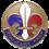 Éclaireurs français en Grande-Bretagne, mouvement scout de la France libre. insignia metal.png