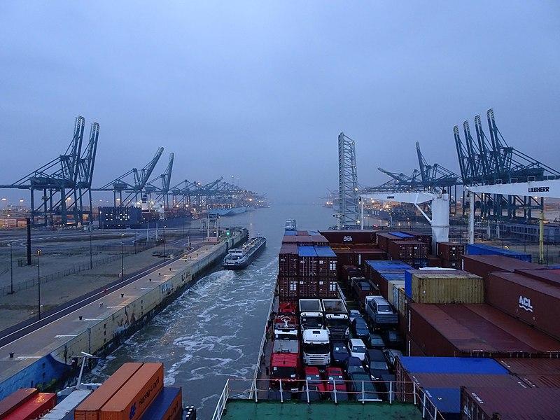 Fichier:Écluse port Anvers 2.jpg